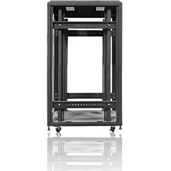 iStarUSA WX-2210 1000mm 4-Post Open-Frame Rack (22 RU)