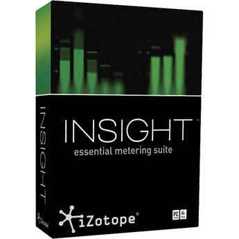 iZotope Insight - Metering Suite Plug-In for Post Production and Broadcast