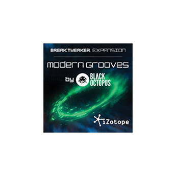 iZotope Modern Grooves - Expansion Library for BreakTweaker Software Drum Machine (Download)