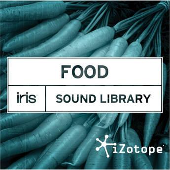 iZotope Iris Food Sound Library