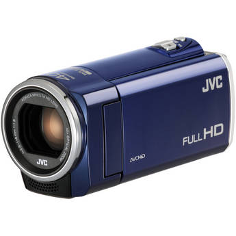 JVC GZ-E100 Full HD Everio Camcorder (Blue)