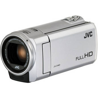 JVC Everio GZ-E100SE Full HD Camcorder (Pal, Silver)