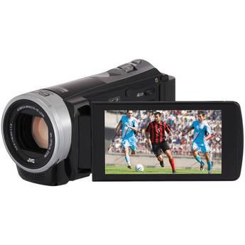 JVC Everio GZ-EX310BE Full HD Camcorder (PAL, Black)