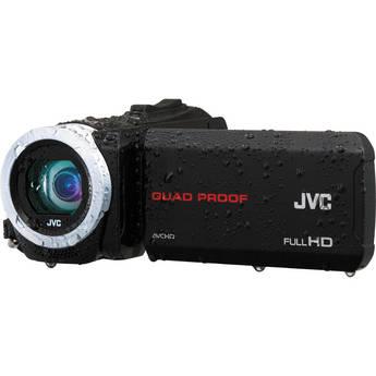 JVC GZ-R10 Quad-Proof HD Camcorder (Black)
