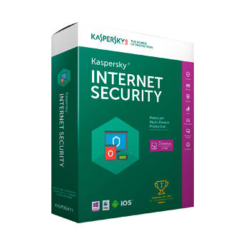 Kaspersky Internet Security 2014 (Boxed, 3-PC License)