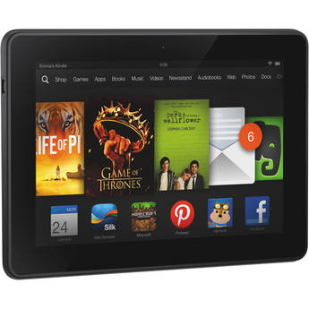 "Kindle 16GB Fire HDX 7"" Tablet (With Special Offers Advertisements)"