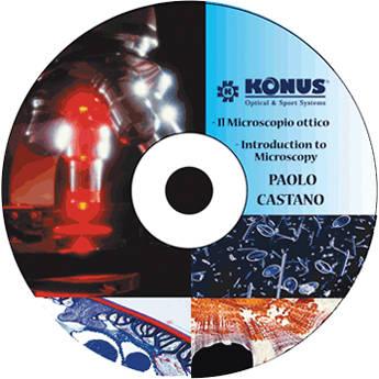 Konus Microcosmo CD Book: Beginner's Guide to Microscopy