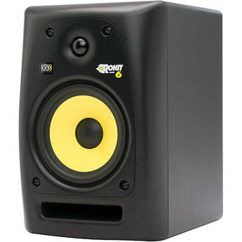 """KRK RoKit 6 G2 68W 6"""" Two-Way Active Nearfield Monitor"""