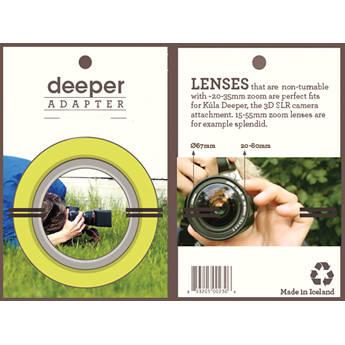 Kula 72mm Deeper Lens Adapter Ring