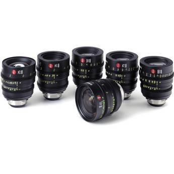 Leica Summicron-C T2.0 Lens Set (6 Lenses) with Case