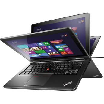 Lenovo ThinkPad S1 Yoga 20CD00B1US 12.5'' Convertible Ultrabook Computer (Black)