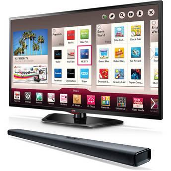 "LG 47"" LN5790 Full HD 1080p LED Smart TV & Sound Bar"