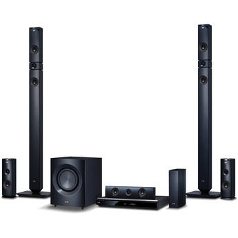 LG BH9431PW 3D-Capable 9.1-Channel Blu-ray Disc Home Theater System with Smart TV (Black)