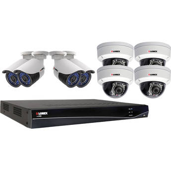 Lorex 8-Channel 2TB NVR Kit wth Eight Day/Night Outdoor IP Cameras