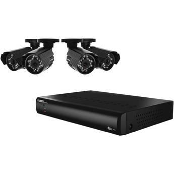 Lorex 8-Channel DVR with 4 x 600 TVL Cameras & 500GB HDD
