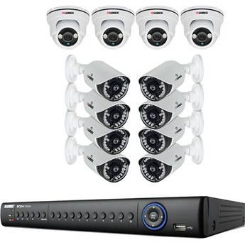 Lorex ECO4 Stratus 16-Ch 960H Network 2TB HDD DVR & 12 x Day/Night Cameras