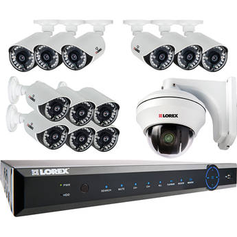 Lorex ECO6 Stratus 16-Channel 2TB DVR with 13 Cameras
