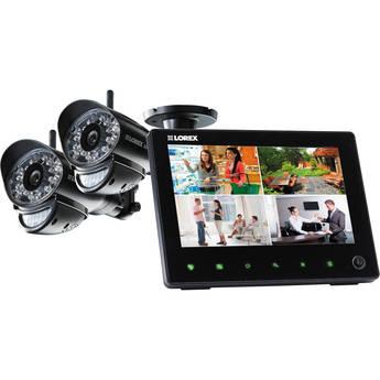Lorex SD Pro Wi-Fi Video Surveillance System with Two Wireless Cameras