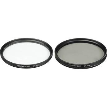 Luminesque 52mm UV and Circular Polarizer Multi Coated Filter Kit