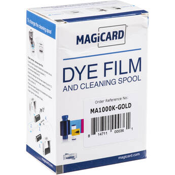 Magicard MA1000K Gold Resin Film