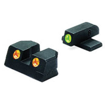 MEPROLIGHT LTD Tru-Dot Tritium Night Sight Set for Sig Sauer 9mm / .357 (Orange / Green)