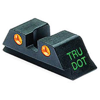MEPROLIGHT LTD Tru-Dot Tritium Rear Night Sight for Glock 10mm/.45ACP (Orange)
