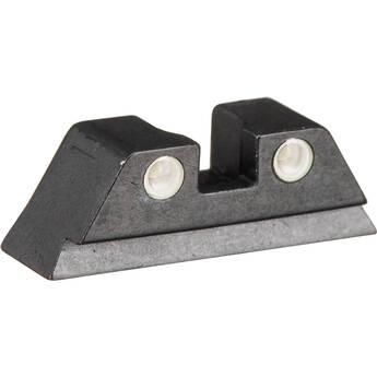 MEPROLIGHT LTD Tru-Dot Tritium Rear Night Sight for Glock 10mm/.45ACP (Green)