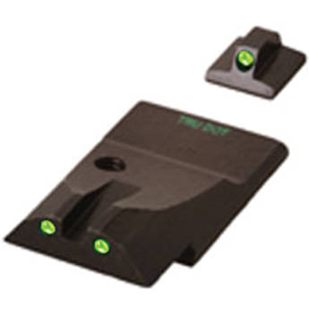 MEPROLIGHT LTD Tru-Dot Tritium Night Sight Set for Ruger P345 (Green / Green)