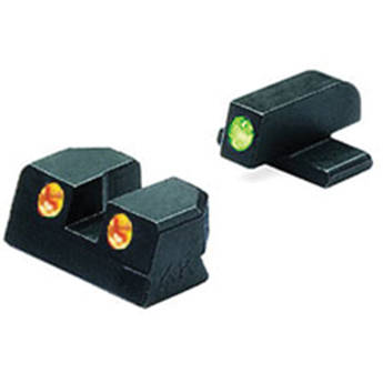 MEPROLIGHT LTD Tru-Dot Tritium Night Sight for Springfield XD 45 (Set - Orange/Green)