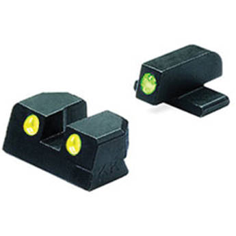 MEPROLIGHT LTD Tru-Dot Tritium Night Sight for Springfield XD 45 (Set - Yellow/Green)