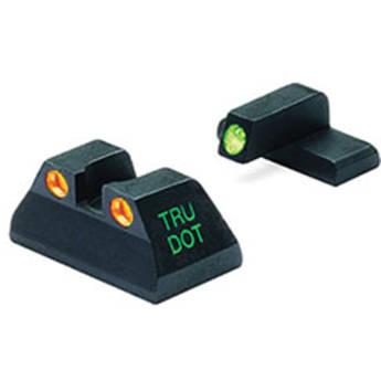 MEPROLIGHT LTD Tru-Dot Tritium Night Sight for H&K USP Compact (Set - Orange/Green)