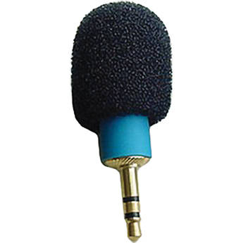 Microphone Madness MM-TMM-1 Tiny Mono Microphone (Blue)