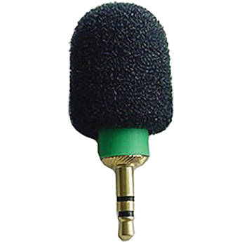 Microphone Madness MM-TMM-1 Tiny Mono Microphone (Green)