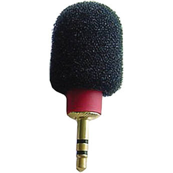 Microphone Madness MM-TMM-1 Tiny Mono Microphone (Red)