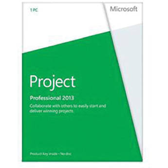 Microsoft Project Professional 2013 (Product Key)