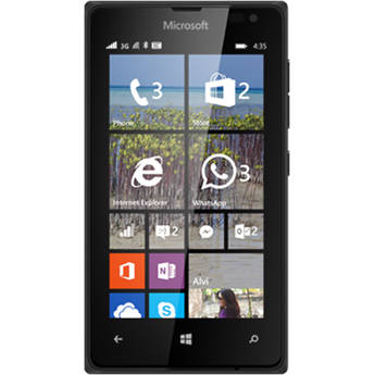 Microsoft Lumia 435 RM-1070 8GB T-Mobile Branded Smartphone (Unlocked, Black)