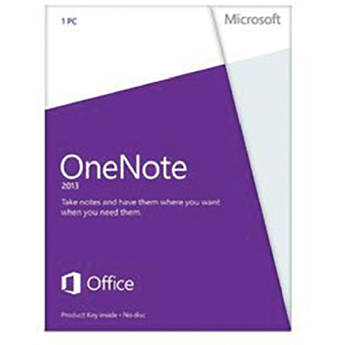 Microsoft OneNote 2013 Software (Product Key)