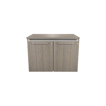 """Middle Atlantic C5 Wood,Ibis,2 Bay,22""""D/32""""H,Mod,SD,Thermo Laminate,M4-LH"""