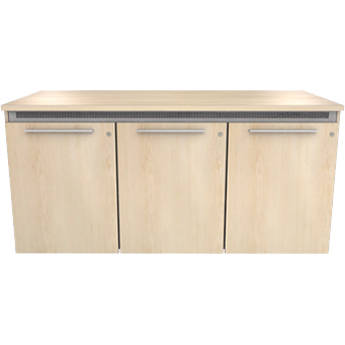 """Middle Atlantic C5 Wood,Natural Maple,3 Bay,22""""D/32""""H,Mod,SD,Thermo Laminate,M4-LH"""