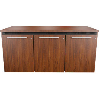 """Middle Atlantic C5 Wood,Sienna,3 Bay,22""""D/32""""H,Mod,SD,Thermo Laminate,M4-LH"""