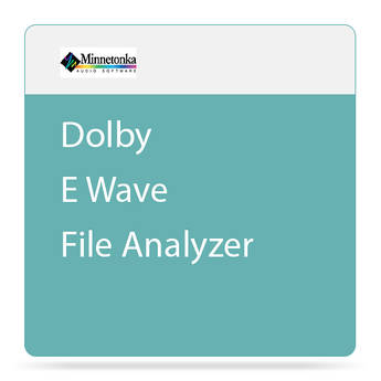 SurCode Dolby E WavFileAnalyzer Software (Rental)