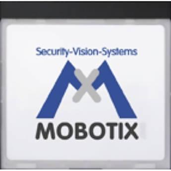 MOBOTIX MX-INFO1-EXT-BL Info Module (Black)