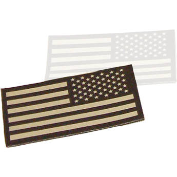 Morovision Infrared ID USA Flag Patch (Tan, Left Sleeve)