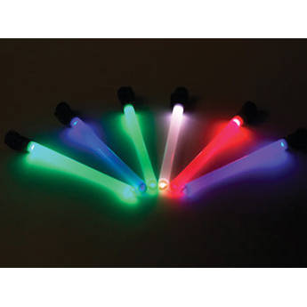 """Morovision MK8 4"""" Dual-End Glow Wand (Blue/Red)"""