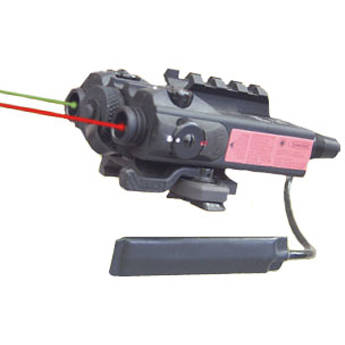 Morovision Dual Beam Red/IR Aiming Laser for H&K MP5
