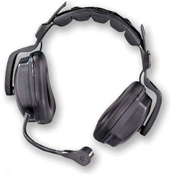 Motorola ET-ULTR-DBL Double Muff Headset with Microphone