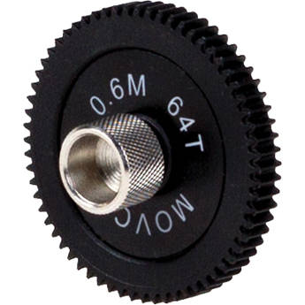 Movcam 0.6M, 64 Teeth, 6mm Face Gear for MCF-1 Follow Focus