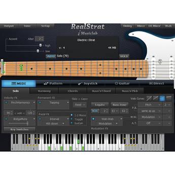 MusicLab RealStrat 3 Virtual Instrument