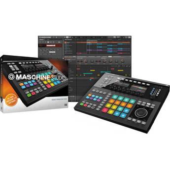 Native Instruments Maschine Studio Groove Production System (Black)