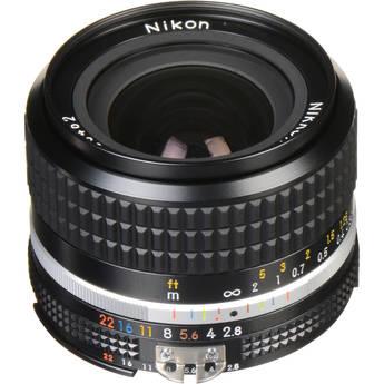 Nikon NIKKOR 24mm f/2.8 AIS Manual Focus Lens